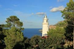 Lighthouse es faro. Porto de soller Royalty Free Stock Photography