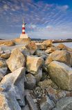 Lighthouse in Esposende Royalty Free Stock Images