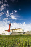 Lighthouse in Esposende, Northern Portugal Stock Photos