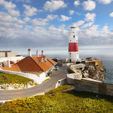 Lighthouse, Europa Point, Gibraltar Royalty Free Stock Images
