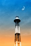 Lighthouse in the evening Royalty Free Stock Photo