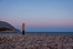 Lighthouse in evening Royalty Free Stock Photos