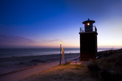 Lighthouse of Föhr at Wyk Royalty Free Stock Photos