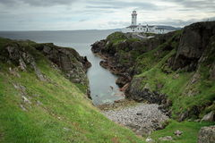 Lighthouse of Fanad Head in Ireland Royalty Free Stock Photography