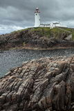 Lighthouse of Fanad Head in Ireland Royalty Free Stock Images