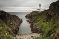 Lighthouse of Fanad Head in Ireland Royalty Free Stock Image