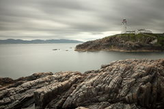Lighthouse of Fanad Head in Ireland Stock Photo