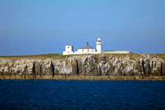 Lighthouse, Farne Island, England Royalty Free Stock Photo