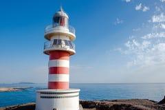 Lighthouse Faro DE Arinaga, Gran Canaria stock afbeelding
