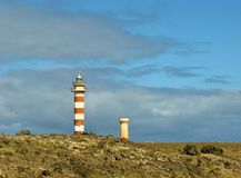 Lighthouse Faro de El Toston Stock Photo