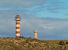 Lighthouse Faro de El Toston Stock Image