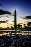 Lighthouse Faro de Maspalomas stock photography