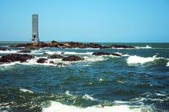 Lighthouse `Farol da Concha` stock images