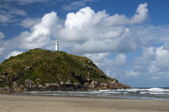 Lighthouse of Farol das Conchas Stock Photos