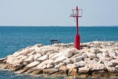 Lighthouse. Fazana, Croatia Stock Image