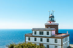 Lighthouse in Finisterre in Galicia Stock Photo