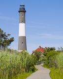 Lighthouse at Fire Island Royalty Free Stock Image