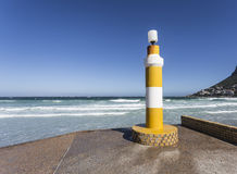 Lighthouse in Fish Hoek Stock Image