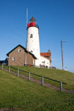 Lighthouse of a fishing village in the Netherlands Royalty Free Stock Photos