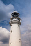 Lighthouse in Flamborough Stock Photography