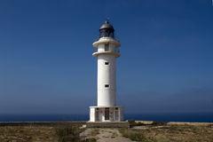 Lighthouse in formentera Stock Images