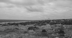 LIghthouse in formentera Stock Image