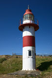 Lighthouse of Fort in Niebla, Chile Royalty Free Stock Image