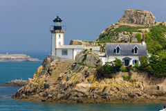 Lighthouse in France Stock Images