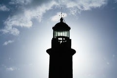 Lighthouse in Fuencaliente, La Palma Royalty Free Stock Images