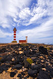 Lighthouse at Fuerteventura Royalty Free Stock Photos