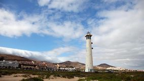 Lighthouse in Fuerteventura Royalty Free Stock Photography