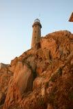 Lighthouse in Galicia. Lighthouse in Camariñas, Cabo Vilán. Costa da Morte Royalty Free Stock Photo
