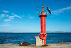 Lighthouse in Galicia Stock Photo