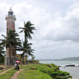 Lighthouse Galle. Ancient lighthouse in Galle Sri Lanka Stock Photo