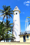 Lighthouse in Galle Fort, built in 1938 Royalty Free Stock Image