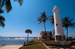 Lighthouse in Galle. Sri Lanka Royalty Free Stock Image