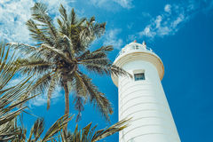 Lighthouse in Galle. Royalty Free Stock Photography