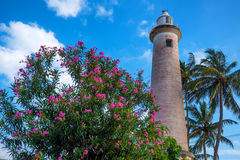 Lighthouse in Galle Stock Photography