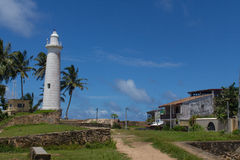 Lighthouse in Galle Stock Image