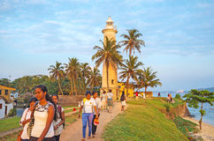 The lighthouse of Galle Stock Images