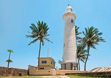 Lighthouse in Galle, Sri Lanka Stock Images