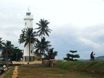 Lighthouse in Galle Royalty Free Stock Photos