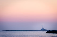 Lighthouse (Gallipoli, Puglia) Royalty Free Stock Photo