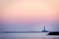 Lighthouse (Gallipoli, Puglia) Royalty Free Stock Photo