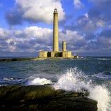 Lighthouse, Gatteville Stock Images