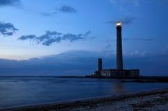 Lighthouse of Gatteville, France Stock Photography