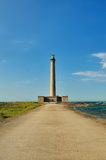 Lighthouse of Gatteville, France Royalty Free Stock Images