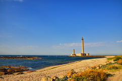 Lighthouse of Gatteville, France Royalty Free Stock Photos