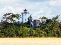 Lighthouse in Gedser, Denmark Stock Image