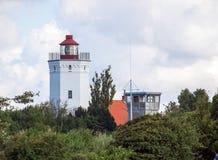 Lighthouse in Gedser, Denmark Royalty Free Stock Photos